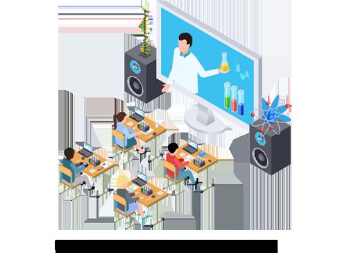 4.Providing Modern Facility in teaching